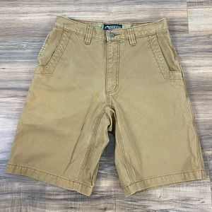 Mountain Khakis Alpine Utility stiff cotton shorts